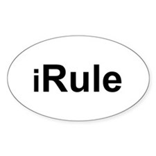 iRule Oval Decal