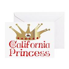 California Princess Greeting Card