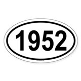 1952 Oval Decal