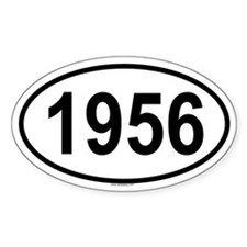 1956 Oval Decal