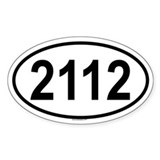 2112 Oval Decal