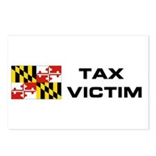 MD. TAX VICTIM Postcards (Package of 8)