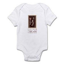 Lithuania Basketball Stamp Infant Bodysuit