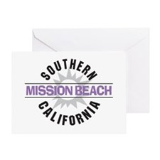 Mission Beach Greeting Card