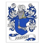 Prevost Coat of Arms Small Poster