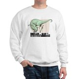 Dinosaur & Man Sweater