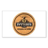 Svyturys Barrel Rectangle Decal
