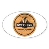 Svyturys Barrel Oval Decal