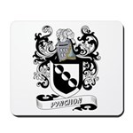 Pynchon Coat of Arms Mousepad
