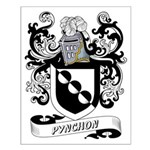 Pynchon Coat of Arms Small Poster