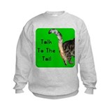 Cool Green tabby Sweatshirt