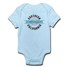 Coronado California Infant Bodysuit