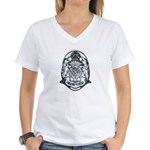 Scotland Police Women's V-Neck T-Shirt