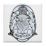 Scotland Police Tile Coaster