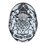 Scotland Police Oval Ornament
