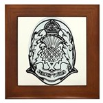 Scotland Police Framed Tile
