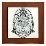 Scotland Police Framed Tile
