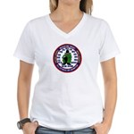 U.S Intelligence Women's V-Neck T-Shirt