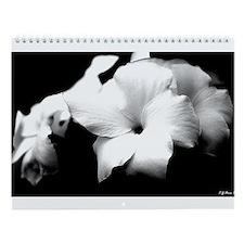 DarkLight FLower Wall Calendar