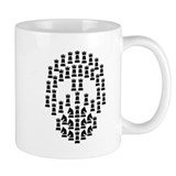 Chess Skull Small Mugs