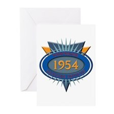 1954 Greeting Cards (Pk of 20)