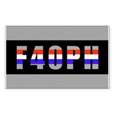 F40PH Rectangle Stickers