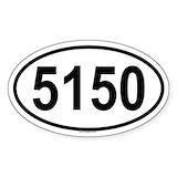 5150 stickers Single