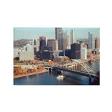 Cute Pittsburgh Rectangle Magnet