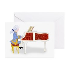 Young Mozart at the Piano Greeting Cards (10-Pk)
