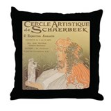 Cercle Artistique Throw Pillow