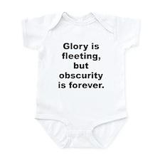 Glory is fleeting Infant Bodysuit