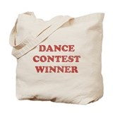 Vintage Dance Contest Winner Tote Bag