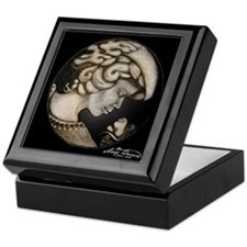 Lillian cameo onyx Keepsake Box
