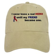 Never Knew A Hero.....Friend (ARMY) Cap