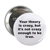 "Cute Niels bohr 2.25"" Button"