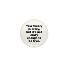 Funny Niels bohr quote Mini Button (100 pack)