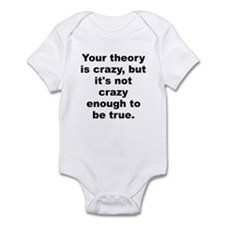 Niels bohr quote Infant Bodysuit