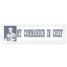 Robert E Lee Bumper Car Sticker