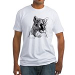 Mountain Lion Fitted T-Shirt