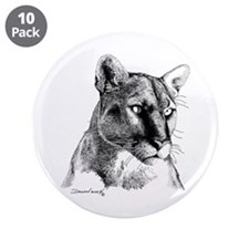 "Mountain Lion 3.5"" Button (10 pack)"