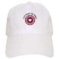 I can change the world Baseball Cap