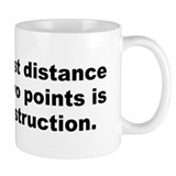 Shortest distance Mug