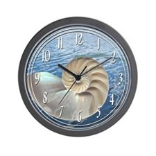 Unique Seashell Wall Clock