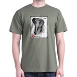 &quot;71&quot; African Elephant, PAWSWeb.org T-Shirt