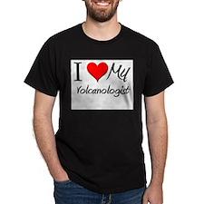 I Heart My Volcanologist T-Shirt