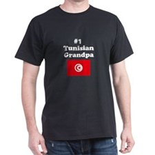 #1 Tunisian Grandpa T-Shirt