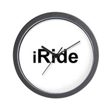 iRide Wall Clock