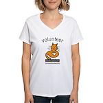 Feline Network Women's V-Neck T-Shirt