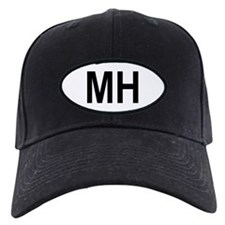 Marshall Islands Oval Baseball Hat