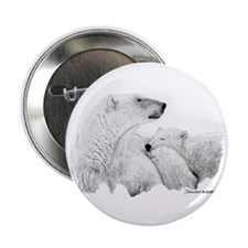 "Polar Bears 2.25"" Button (10 pack)"